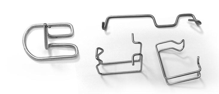 clips metal modeles